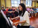 旅美音乐博士王宸走进北京万寿路社区与大咖们交流互动