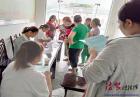 广元经开区白龙社区关爱育龄妇女免费作体检