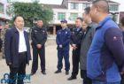 四川营山县委常委、常务副县长何鹏带队检查庙会安全工作