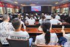 阆中市住建局组织收视收听庆祝中国共产党成立百周年大会现场直播