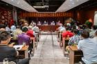 枣庄市国学教育促进会滕州工作委员会成功揭牌